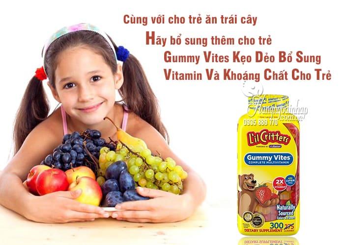 Gummy Vites Kẹo Dẻo Bổ Sung Vitamin Và Khoáng Chất Cho Trẻ 2