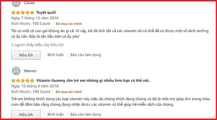 Gummy Vites Kẹo Dẻo Bổ Sung Vitamin Và Khoáng Chất Cho Trẻ 10