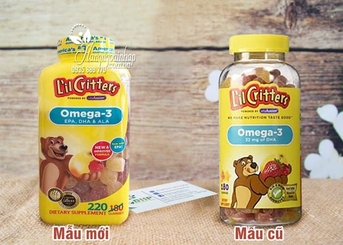 Omega-3 DHA Gummy Fish Kẹo Dẻo Bổ Sung Vitamin Cho Bé 1