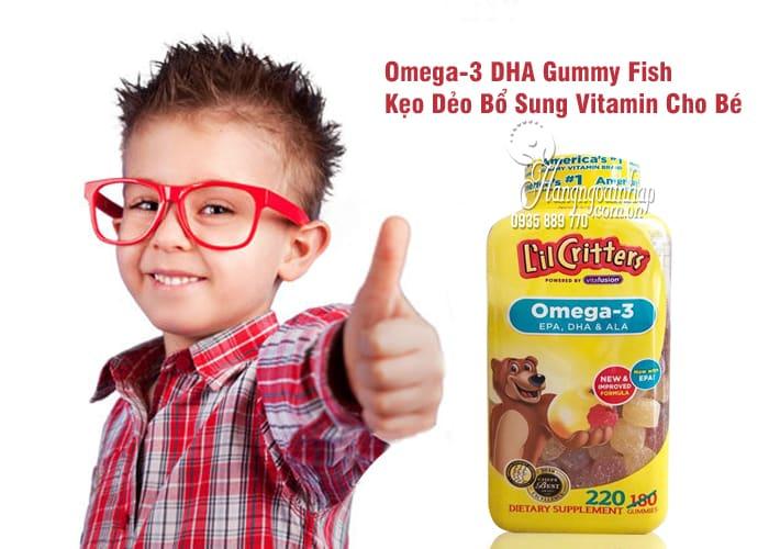 Omega-3 DHA Gummy Fish Kẹo Dẻo Bổ Sung Vitamin Cho Bé 3