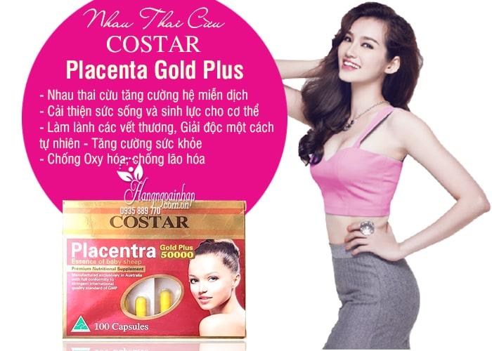 Nhau Thai Cừu Placenta Gold Plus 50000mg Của Costar  5