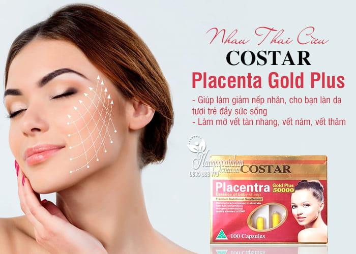 Nhau Thai Cừu Placenta Gold Plus 50000mg Của Costar  1