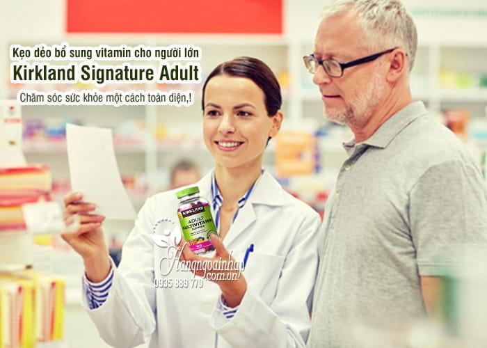 Kẹo dẻo bổ sung vitamin cho người lớn Kirkland Signature Adult 5