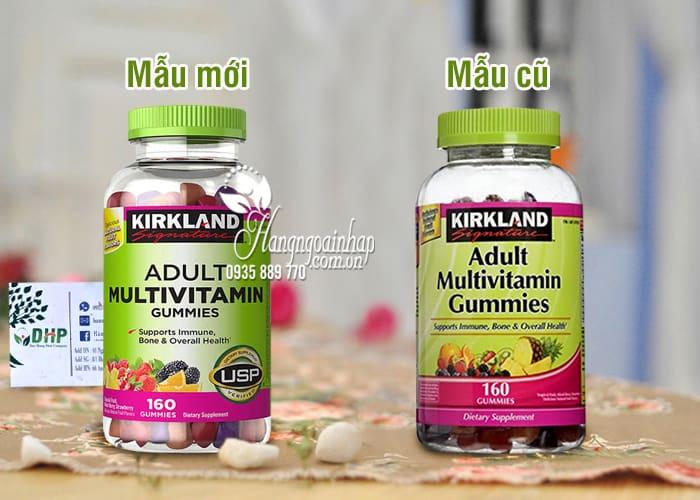 Kẹo dẻo bổ sung vitamin cho người lớn Kirkland Signature Adult 1