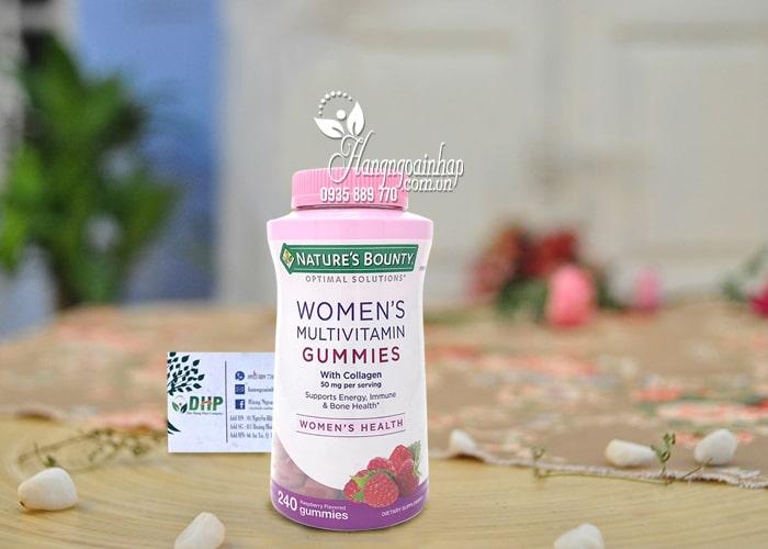 Kẹo dẻo vitamin cho phụ nữ Nature's Bounty Women's Mỹ 3
