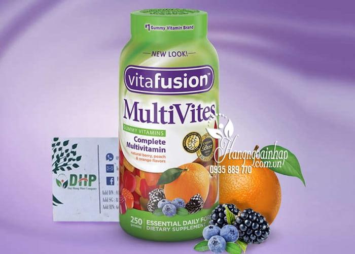 Kẹo dẻo vitamin tổng hợp Vitafusion MultiVites 250 viên Mỹ 2