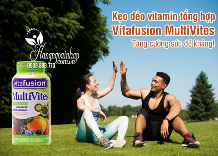 Kẹo dẻo vitamin tổng hợp Vitafusion MultiVites 250 viên Mỹ 8
