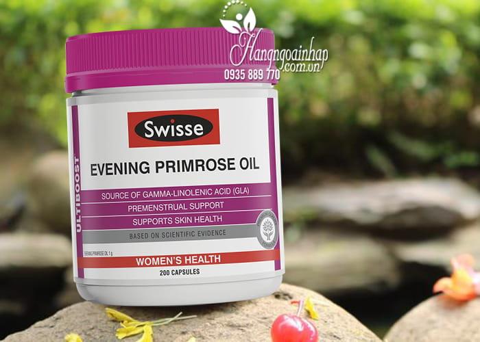 Tinh dầu hoa anh thảo Swisse Evening Primrose Oil Úc 2