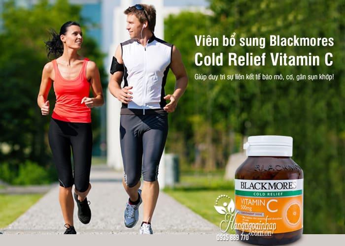 Viên bổ sung Blackmores Cold Relief Vitamin C 500mg Úc 3