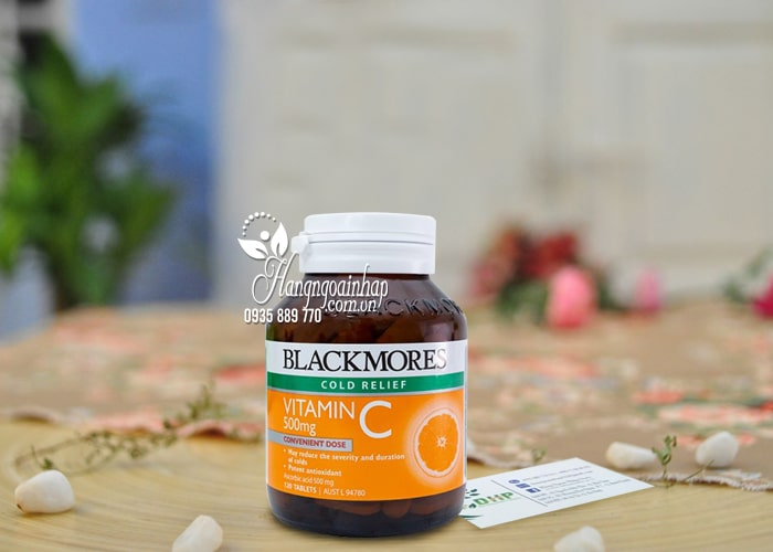 Viên bổ sung Blackmores Cold Relief Vitamin C 500mg Úc 8
