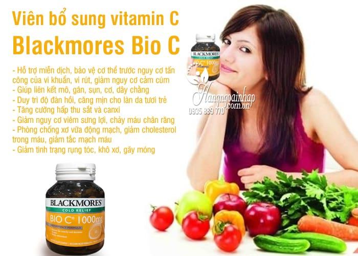 Viên bổ sung vitamin C Blackmores Bio C 1000mg 62 viên Úc 1
