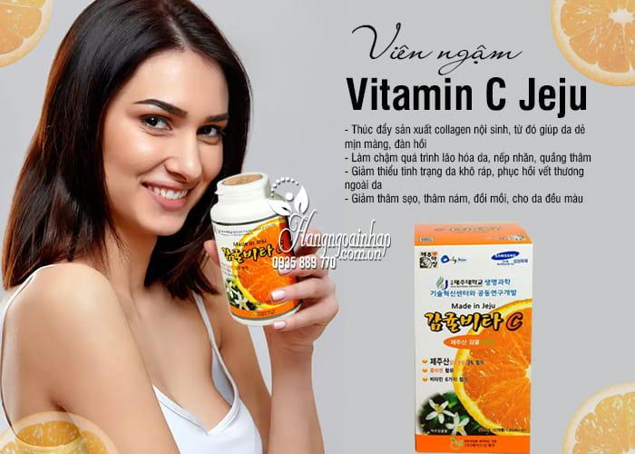 Viên ngậm Vitamin C Jeju 500g Hàn Quốc, hộp 278 viên giá tốt 1