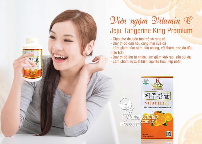 Viên ngậm Vitamin C Jeju Tangerine King Premium 365 viên 7