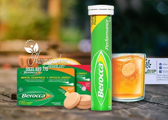 Viên sủi Berocca của Úc tăng cường đề kháng, phòng cảm cúm 3