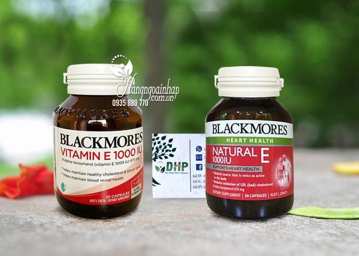Viên uống Blackmore Natural Vitamin E 1000IU 30 viên của Úc 9