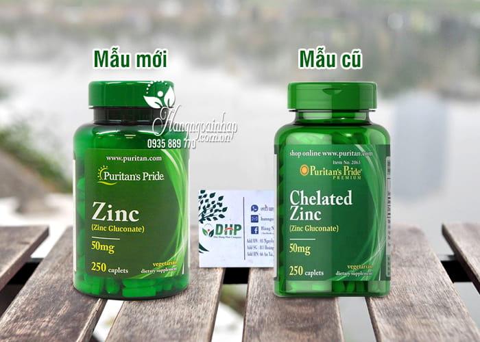 Viên Uống Bổ Sung Kẽm Chelated Zinc Gluconate 50mg 250 Viên 6