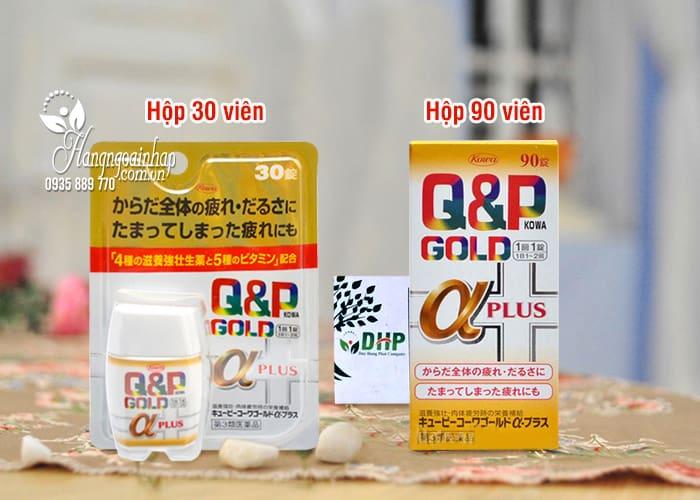 Viên Uống Bổ Sung Năng Lượng Q&P Gold Plus Kowa Nhật 1