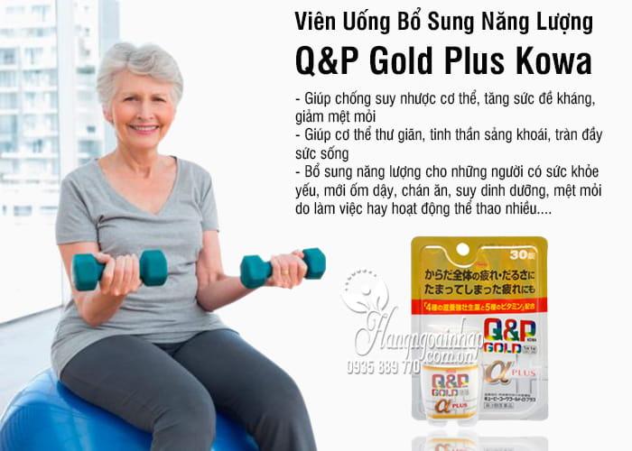 Viên Uống Bổ Sung Năng Lượng Q&P Gold Plus Kowa Nhật 8