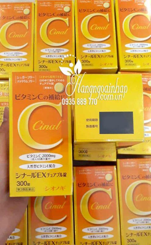 Viên Uống Cinal Vitamin C 2000mg Nhật, trắng da mờ thâm nám 23