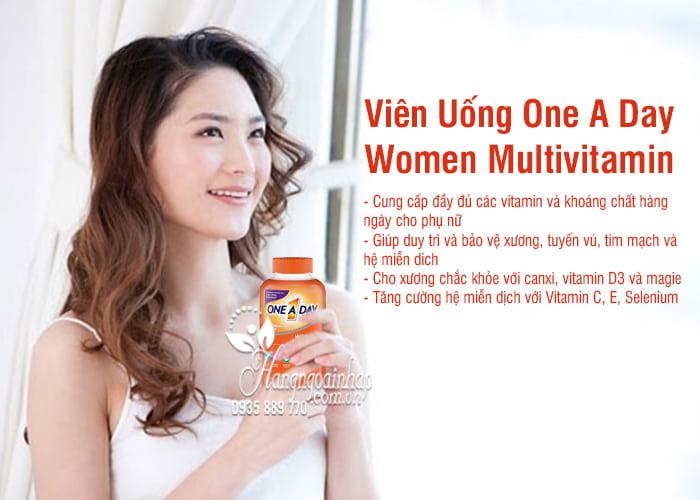 Viên Uống One A Day Women Multivitamin 300 Viên Của Mỹ 4