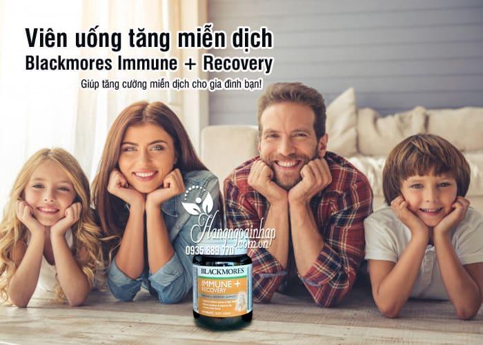 Viên uống tăng miễn dịch Blackmores Immune + Recovery 30 viên 6