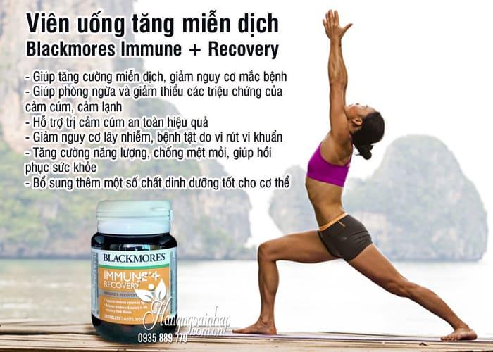Viên uống tăng miễn dịch Blackmores Immune + Recovery 30 viên 3