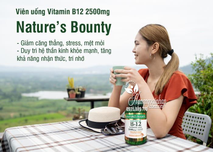 Viên uống Vitamin B12 2500mg Nature's Bounty 300 viên Mỹ 1