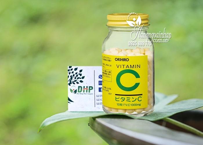 Viên uống Vitamin C 1000mg Orihiro của Nhật, hộp 300 viên 2
