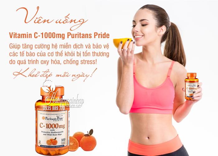Viên uống Vitamin C 1000mg Puritans Pride 100 viên-Mỹ 7