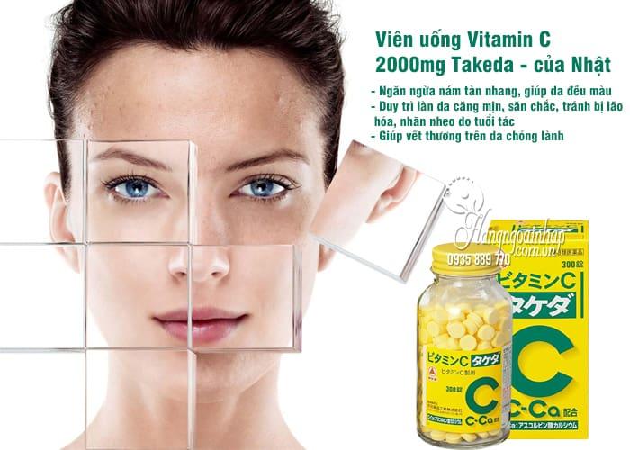 Viên uống Vitamin C 2000mg Takeda 300 viên của Nhật Bản 2