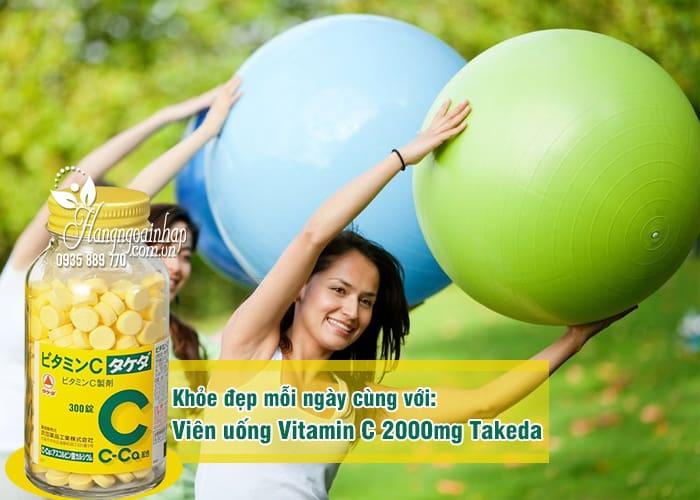 Viên uống Vitamin C 2000mg Takeda 300 viên của Nhật Bản 3