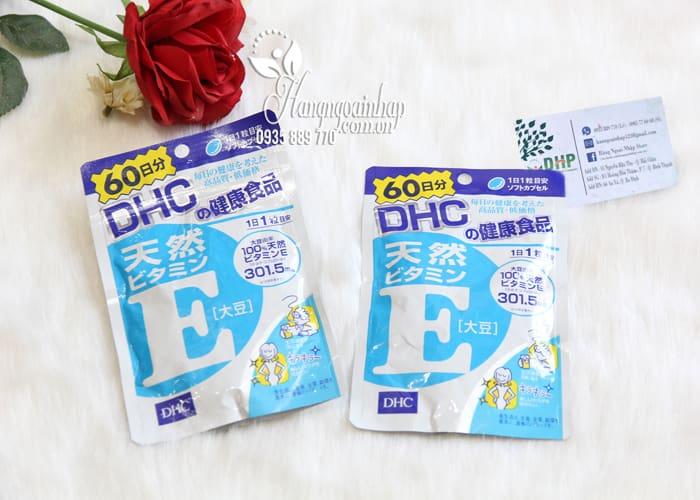 Viên uống vitamin E DHC Nhật Bản 60 viên mẫu mới nhất 5