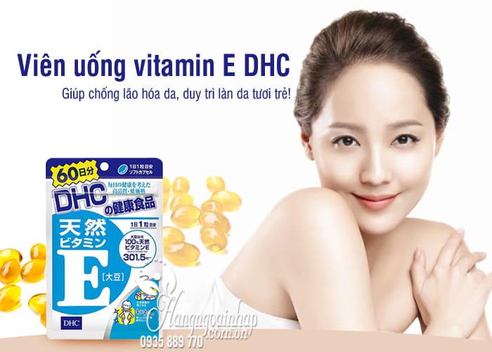 Viên uống vitamin E DHC Nhật Bản 60 viên mẫu mới nhất 8