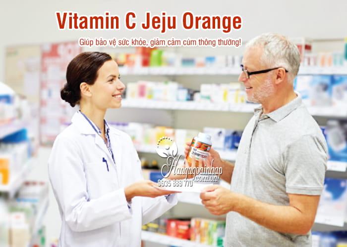 Viên Vitamin C Jeju Orange 500g 277 viên của Hàn Quốc 9