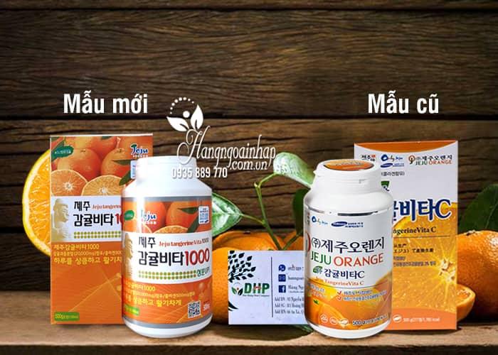 Viên Vitamin C Jeju Orange 500g 277 viên của Hàn Quốc 1