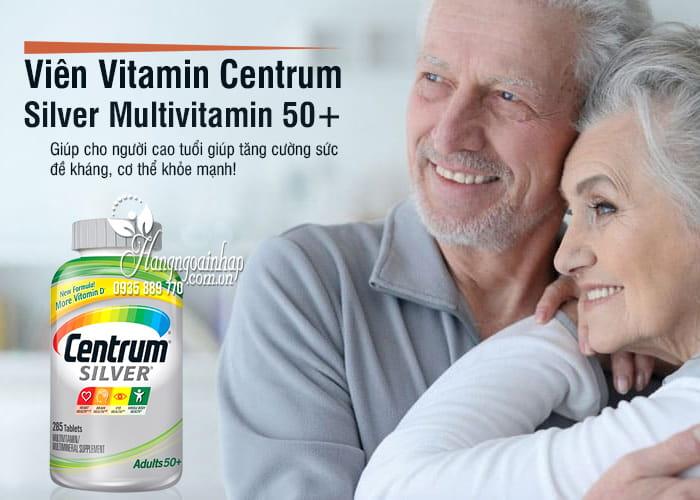 Viên Vitamin Centrum Silver Multivitamin 50+ 285 Viên Của Mỹ 4