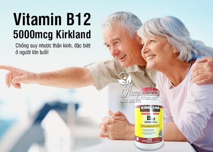 Vitamin B12 5000mcg Kirkland 300 viên của Mỹ chính hãng 1