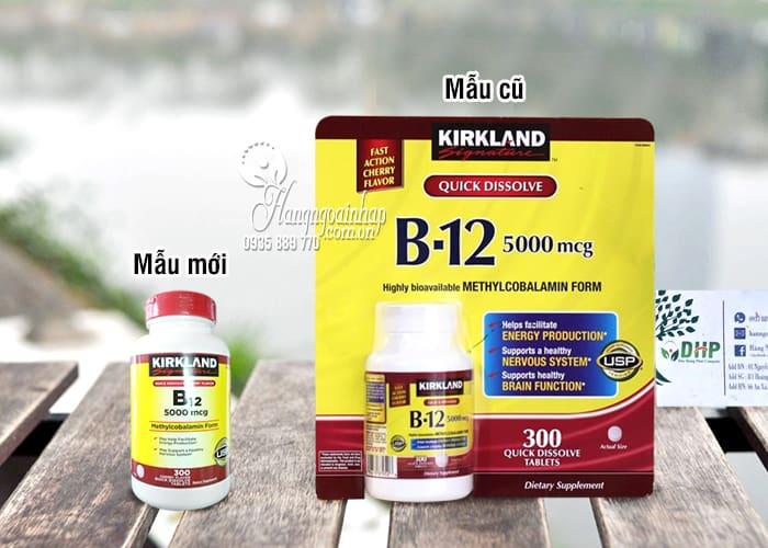 Vitamin B12 5000mcg Kirkland 300 viên của Mỹ chính hãng 9