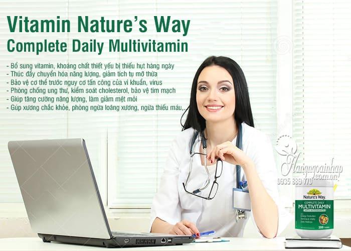 Vitamin Nature's Way Complete Daily Multivitamin Úc 200v 3