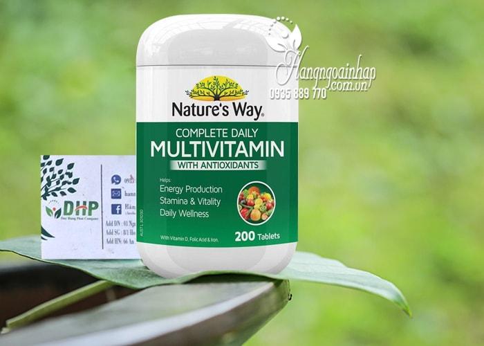 Vitamin Nature's Way Complete Daily Multivitamin Úc 200v 8