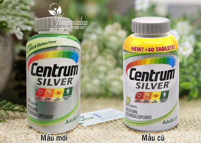Vitamin tổng hợp Centrum Silver Adults 50+ 325 viên của Mỹ 2