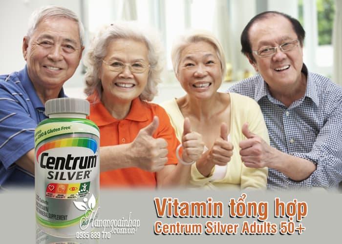 Vitamin tổng hợp Centrum Silver Adults 50+ 325 viên của Mỹ 1