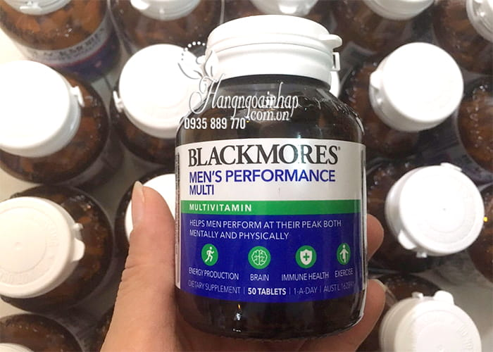 Vitamin tổng hợp cho nam Blackmores Men's Performance Multi 8