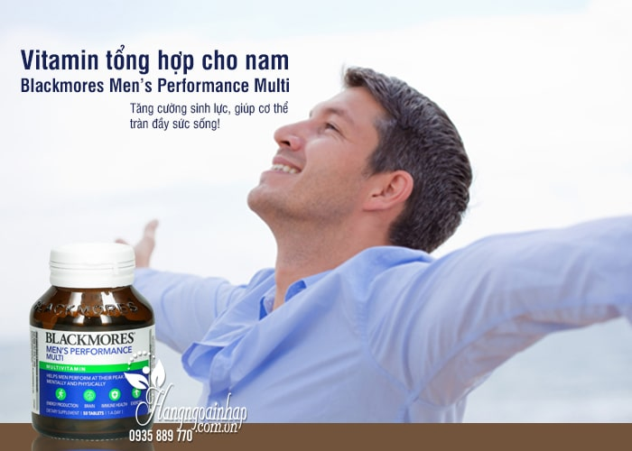 Vitamin tổng hợp cho nam Blackmores Men's Performance Multi 1