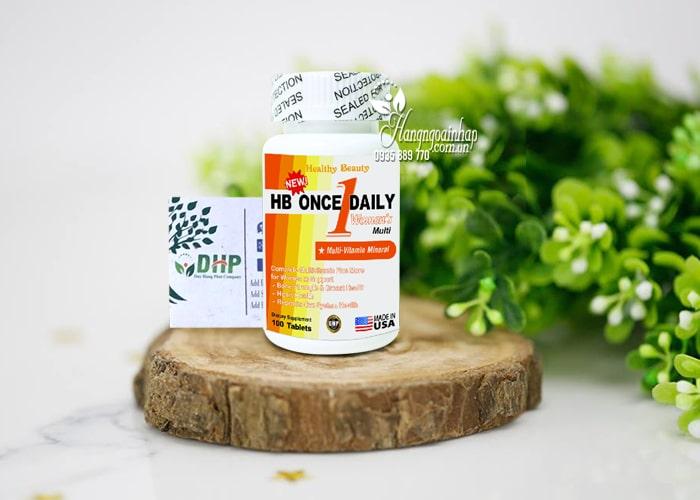Vitamin tổng hợp cho nữ HB Once Daily Women's 100 viên Mỹ 0