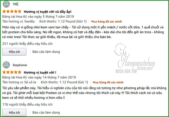 Bột protein hữu cơ Orgain Organic Protein & Superfoods 1224g Mỹ 9
