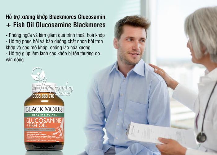 Blackmores Glucosamin + Fish Oil 90 Viên - Glucosamine Blackmores 9