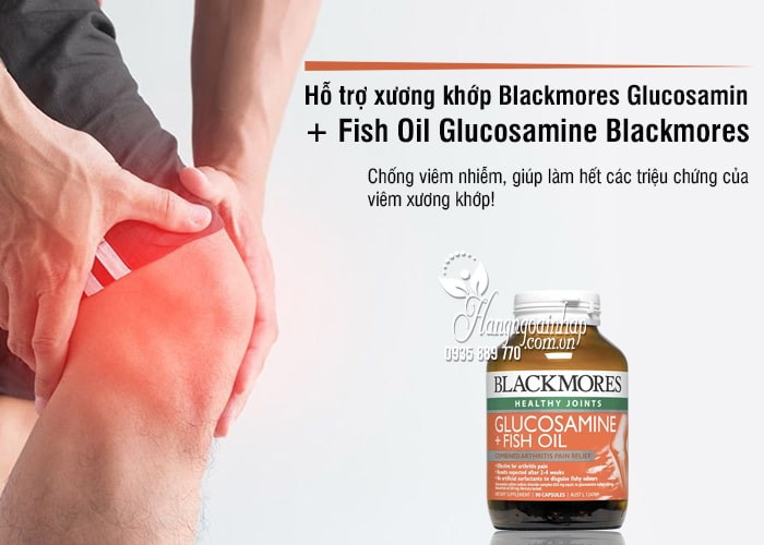 Blackmores Glucosamin + Fish Oil 90 Viên - Glucosamine Blackmores 1
