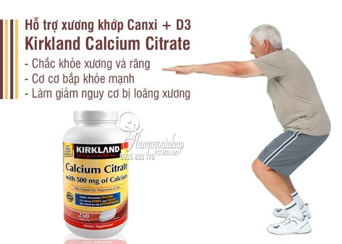 Canxi + D3 Của Mỹ 250 Viên – Kirkland Calcium Citrate 500mg 7
