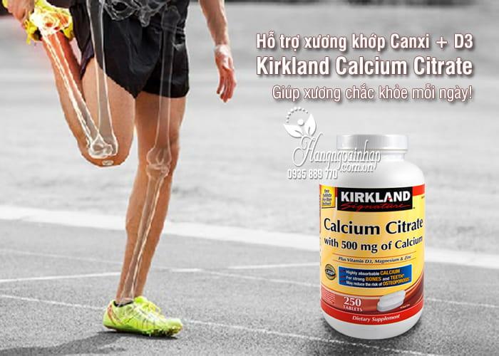 Canxi + D3 Của Mỹ 250 Viên – Kirkland Calcium Citrate 500mg 1